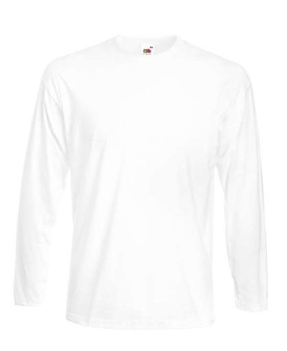 Мужская футболка с длинным рукавом Премиум