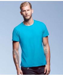 Мужская тонкая футболка