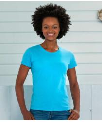 Женская тонкая футболка