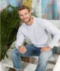 Мужская облегченная футболка с длинным рукавом
