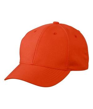Персиковая кепка из 6-ти панелей