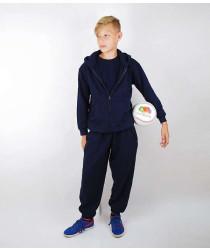 Теплый детский спортивный костюм