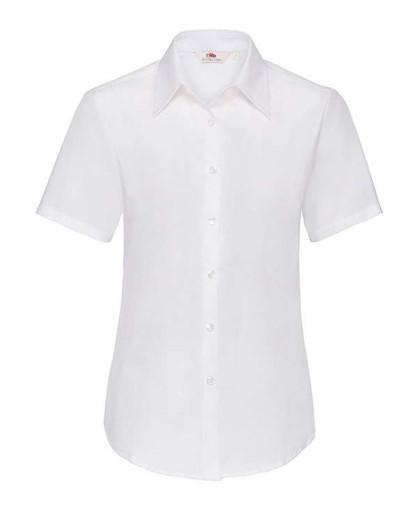 Рубашка женская короткий рукав Oxford