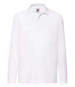 Детская Рубашка Поло с длинным рукавом 65/35