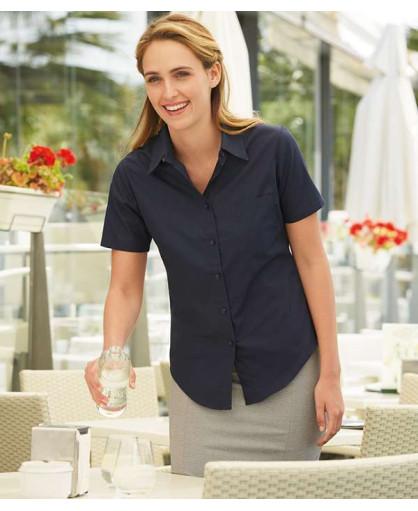 Рубашка женская короткий рукав Poplin