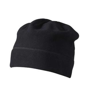 Флисовая шапка с декоративными плоскими швами