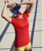 Женская спортивная футболка