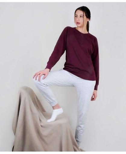 Женский комплект штаны и реглан