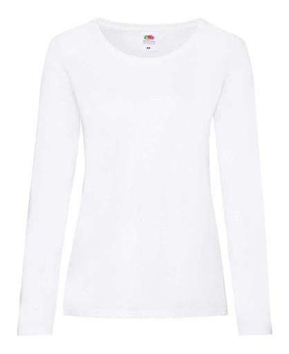 Женская футболка с длинным рукавом L/S Valueweight