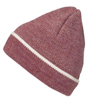 Элегантная трикотажная шапочка