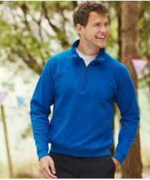 Мужской классический свитер с воротником на замке