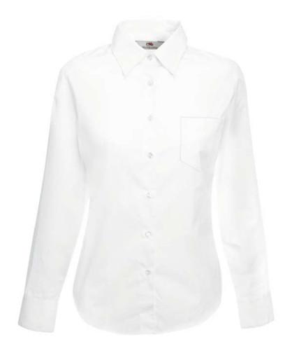 Рубашка женская длинный рукав Poplin