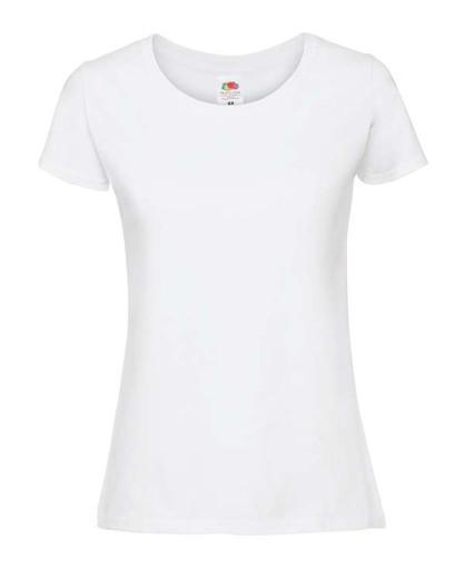 Женская футболка плотная из хлопка