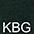 KBG Глубокий Тёмно-Зеленый