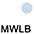 MWLB Белый / Небесно-Голубой