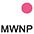 MWNP Белый / Неоново-Малиновый