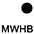 WHB Белый/чёрный