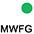 MWFG Белый / Ярко-Зелёный
