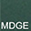 MDGE Тёмно-Зелёный