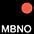 MBNO Чёрный / Неоново-Оранжевый