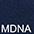 MDNA Глубокий Тёмно-Синий