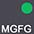 MGFG Графит / Ярко-Зелёный