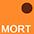 MORT Оранжевый / Красно-Коричневый