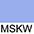 MSKW Небесно-Голубой / Белый