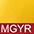 MGYR Золотисто-Жёлтый / Красный