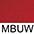 MBUW Тёмно-Бордовый / Белый