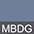 MBDG Синий Меланж / Темно-Серый