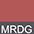 MRDG Красный Меланж / Темно-Серый