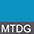 MTDG Бирюзовый Меланж / Темно-Серый