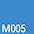 M005 Голубой