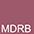 MDRB Tемно-Красный-Черный Меланж