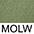 MOLW Оливковый / Белый