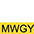 MWGY Белый / Золотисто-Жёлтый
