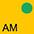 AM Солнечно-Желтый / Ярко Зеленый