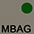 MBAG Бежевый / Тёмно-Зелёный