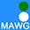 MAWG Азур / Белый / Зелёный