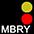 MBRY Чёрный / Красный / Золотисто-Жёлтый