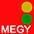 MEGY Красный / Зелёный / Золотой Жёлтый