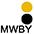 MWBY Белый / Чёрный / Золотисто-Жёлтый