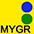 MYGR Жёлтый / Зелёный / Ярко-Синий