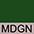 MDGN Тёмно-Зелёный / Телесный