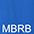 MBRB Ярко-Голубой