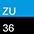 ZU/36 Ультрамарин / Черный-711