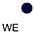 WE Белый / Глубоко Темно-Синий